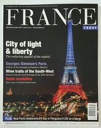 France Today City Of Light And Liberty Paris Hotel Feb Mar 2016 Free Shipping Jb
