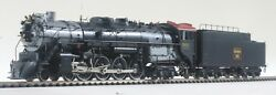 Brand New Sunset Models Brass Ho Scale Cbandq O-5 Series 4-8-4 Dcc/qsi Sound