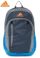adidas Mission Backpack NEW W TAG GREAT FOR COLLEGE  HIGH SCHOOL BACK TO SCHOOL
