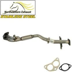 Stainless Steel Front Flex Pipe Fits 2003 - 2006 Mitsubishi Outlander 2.4l Awd