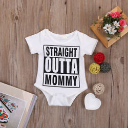 Romper Kids Infant Baby Boy Girl Newborn  Jumpsuit Bodysuit Clothes Outfit Stock $11.59