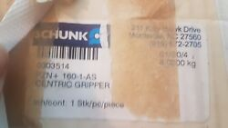 New SCHUNK 3-Finger Centric Gripper 0303514 PZN+ 160-1-AS Made in Germany