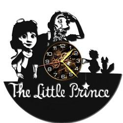 Little Prince Watch Vinyl Record Wall Clock Living Room Home Decor Art Gift Idea