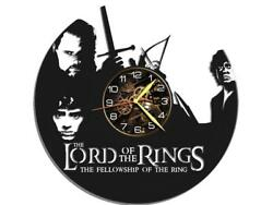 Lord of Rings Watch Vinyl Record Wall Clock Living Room Home Decor Art Gift Idea