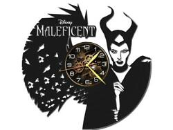 Maleficent Watch Vinyl Record Wall Clock Living Room Home Decor Art Gift Idea