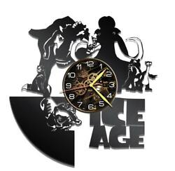 Ice Age Watch Vinyl Record Wall Clock Living Room Home Decor Art Gift Idea New