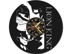 Lion King Watch Vinyl Record Wall Clock Living Room Home Decor Art Gift Idea New