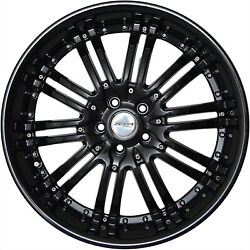 4 Gwg Wheels 20 Inch Staggered Black Narsis Rims Fits Bmw 3 Series 2 Door E92