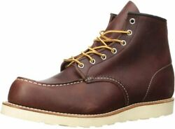 Red Wing Heritage Menand039s Classic Moc 6 Boot 10.5 Brown