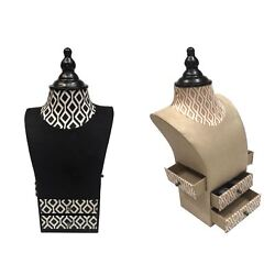 Jewellery Mannequin Model Necklace Display Bust Pendant Holder Storage Stand
