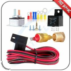 175 To 185 Degree Electric Cooling Fan Thermostat Relay Switch Wiring And Hardware