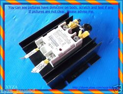 omron G3NA-240B Solid State Relay on heat sink as photo dφm cnc