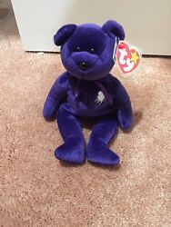 Ty Beanie Baby Princess Diana Retired 1997 Mint Condition W/ Hang Tag.andnbsp