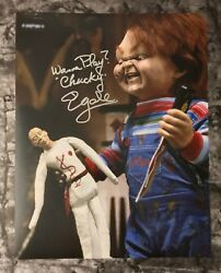 Gfa Child's Play Stunt Double Ed Gale Signed 11x14 Photo Poster Mh3 Coa