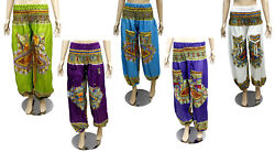 Alibaba Hippie Baggy Trousers Rayon Aladdin Pants For Ladies Wholesale Lot 25pcs