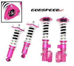 Godspeed Project Mono-ss Adj. Coilover Damper Kit For 15-up Subaru Legacy Bn Bs