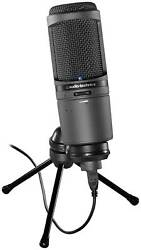 Audio-Technica AT2020USBI Cardioid Condenser USB Studio Vocal Podcast Microphone