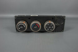2005 Nissan Titan Climate Control Unit  Panel with AC and Rear Defrost
