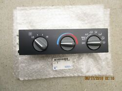 98-05 GMC SAFARI BASE SL SLE SLX AC HEATER CLIMATE TEMPERATURE CONTROL OEM NEW