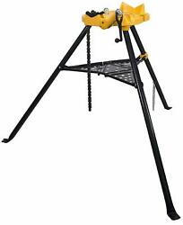6 Tripod Pipe Chain Vise Stand Tool Fits Ridgid 72037 36273 Vice Portable New