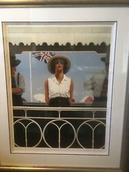 Jack Vettriano Signed Limited Edition Print- Bird On The Wire