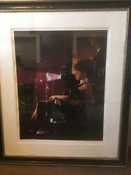 Jack Vettriano Andlsquoan Imperfect Pastandrsquo Limited Edition Signed Print