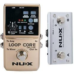 Loop Core Deluxe Upgraded Guitar Pedal With Foot Switch Automatic Tempo 8 Hours