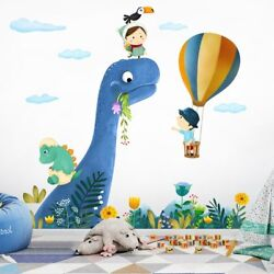Cartoon Wall Stickers For Kids Rooms Cute little Dinosaur Wall Decal Animal Baby