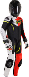 Alpinestars Youth Gp Plus Cup Suit -eurosize 130 Blk/red/white/yel- 3.14052e+13