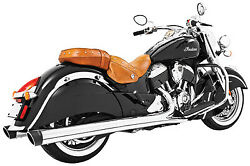 Freedom Performance 4in. Liberty Slip-on Chrome/black End Caps -in00029