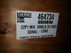 Nib Thermo Blh 200k Lb Capacity Load Cell C2p1 35 Foot .. Each