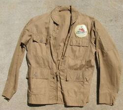 Wwii Vmb-433 Patch On M-716 Summer Flying Jacket