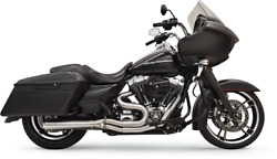 Bassani Xhaust Long Road Rage Iii Stainless 2-into-1 Exhaust System 1f32ss