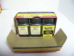 1959 Chrysler Corp Dupli-color Touch-up Pewter Nos Orig 3 Bottle Box