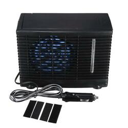 12V Portable Car Air Conditioner Cooling Fan Water Ice Evaporative Cooler Air Fa