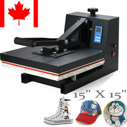T-Shirt Heat Press Device Transfer SUBLIMATION HAT SWING AWAY 【From Canada】CE