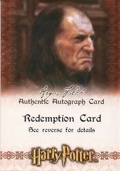 Harry Potter And The Sorcerer's Stone, David Bradley Auto Redemption Card