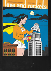 Love And Rockets New Stories Vol 1 And Vol 2 By Hernandez Bros Pbs Fantagraphics Oop