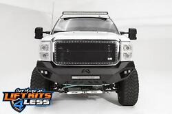 Fab Fours Fs11-v2651-b Bare Vengeance Front Bumper For 2011-2016 Ford F-450/f550