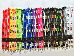Nike Lanyard Detachable Keychain iPod Camera Strap Badge ID **29 COLOR OPTIONS** $5.49