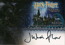 Harry Potter And The Chamber Of Secrets, Aragog Auto Card