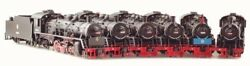 Bachmann China Railway JF Class 2-8-2 Steam Locomotive with Tender (Various no.)