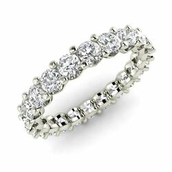 Certified 2.00 Ctw GH SI Diamond in Platinum Anniversary Eternity Band Ring