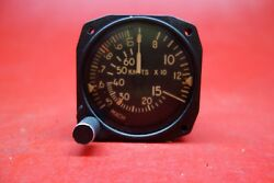 Lear Jet Mach Airspeed Indicator Pn S-225-3