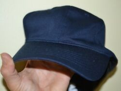 Starter Navy 100% Polyester Fitted Baseball Ball Cap One Size Fits All WM554041 $4.99