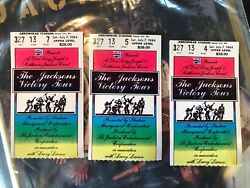 The Jacksons Victory Tour '84 Tickets 3 / Michael Jackson