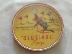 Clusivol Syrup Vintage Dexterity Game, Made By Wagner Plastis