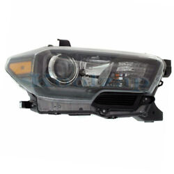 For 17-19 Tacoma Front Headlight Headlamp W/led Drl Head Light Lamp Right Side
