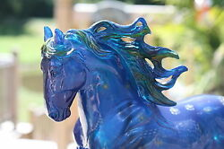 New Breyer SWIRLING SKY Andalusian Horse 2011 Connoisseur Clearware Test Sample
