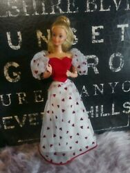Barbie Doll Loving You Hearts Vintage 1983 Outfit 80s Superstar Valentines Day